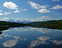 Denali Reflection - Wonder Lake, Denali NP, Alaska